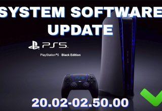 PS5 20.02-02.50.00 Donanım Yazılımı Güncellemesi