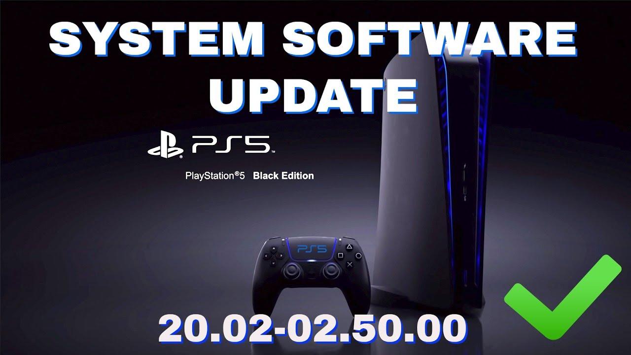 PS5 Yazılımı Güncellemesi