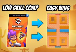 Brawl Stars Knockout Haritası Crimewater
