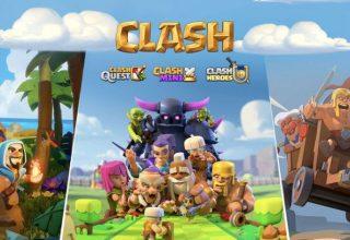 Supercell Üç Yeni Clash Oyununu Tanıttı