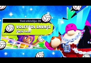 Brawl Stars Voleybol Savaşı Modu En İyi Brawlerlar