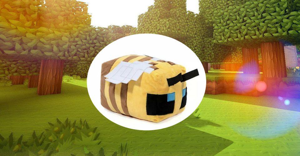minecraft arı peluş