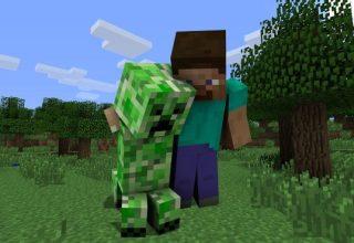 Minecraft Hayranı Creeper Skin'in Sırrını Keşfediyor