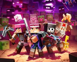 Minecraft Dungeons Echoing Void DLC