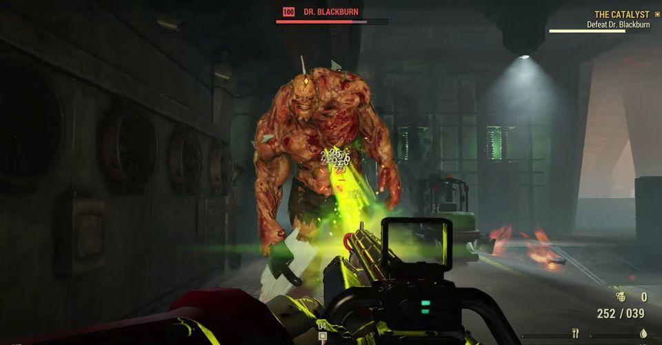 Fallout 76 Dr. Blackburn