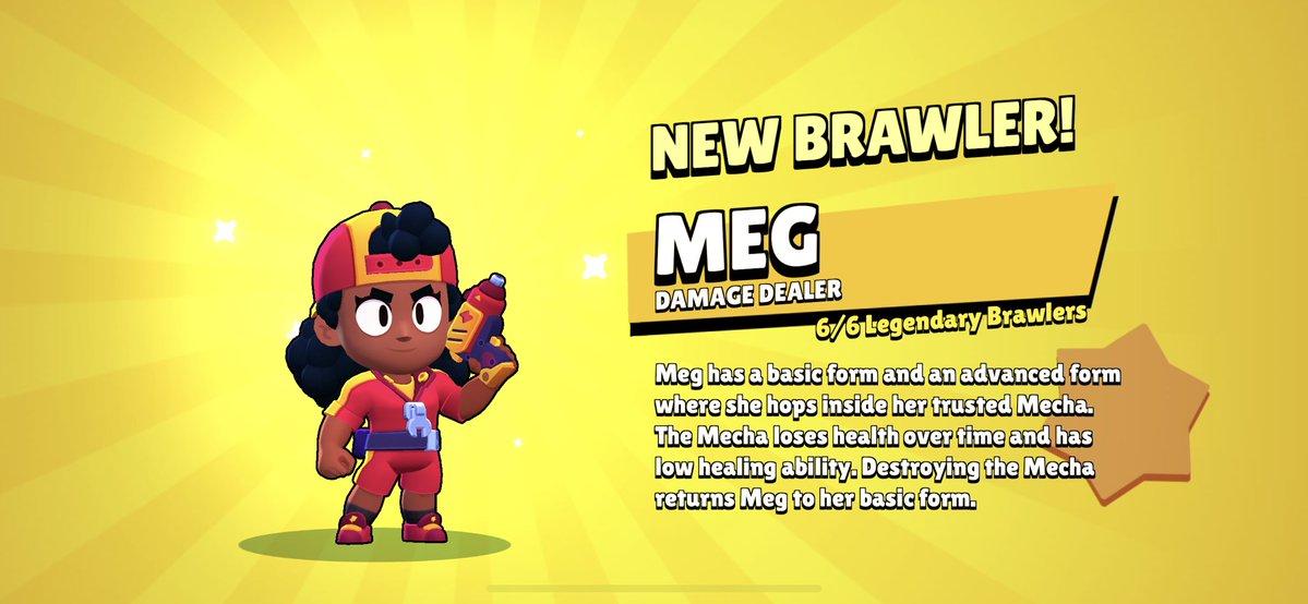 Brawl Stars Meg